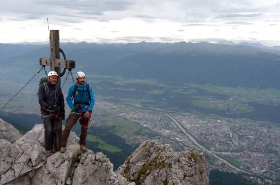 Klettersteig Innsbruck : Innsbrucker klettersteig feiert sein 30jähriges b u2026